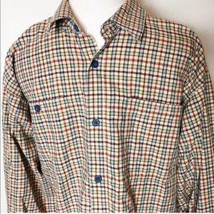 Patagonia long sleeve button down shirt. Size L
